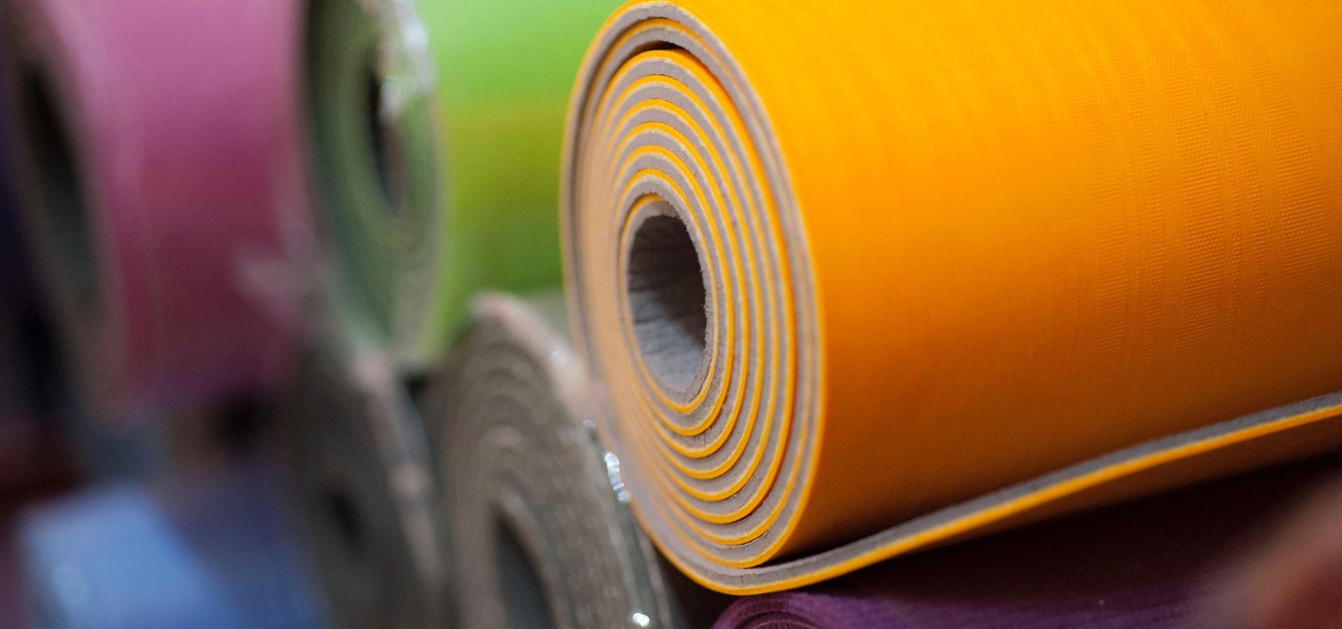 Yoga mats disponibles para la venta