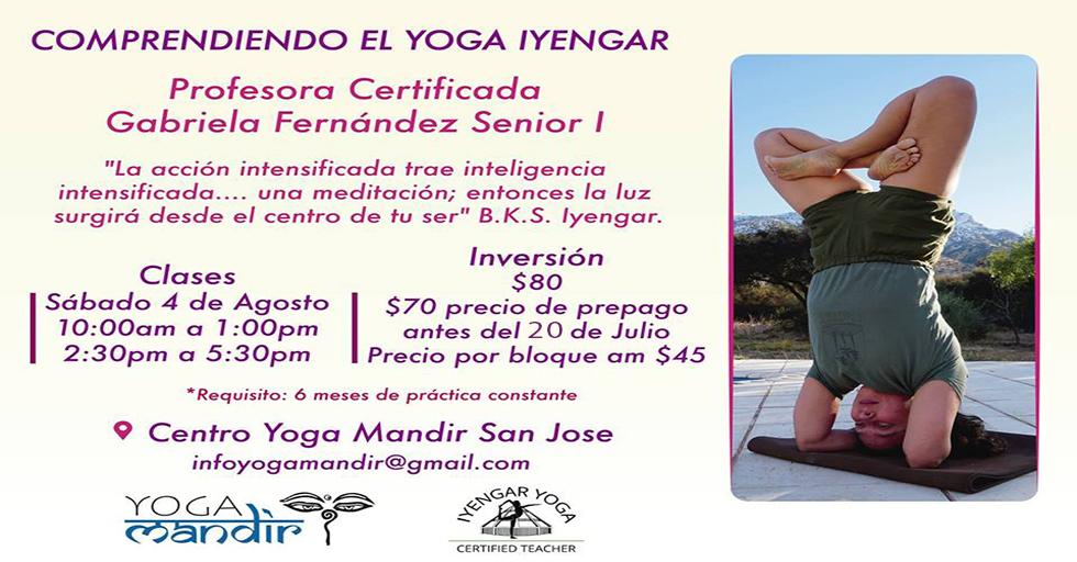 Comprendiendo el Iyengar Yoga