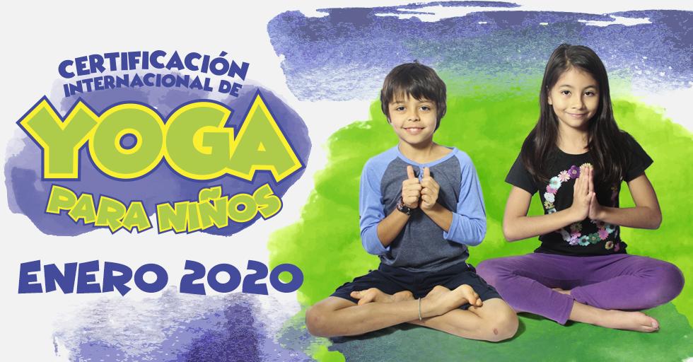 Certificación Internacional de Yoga para Niños