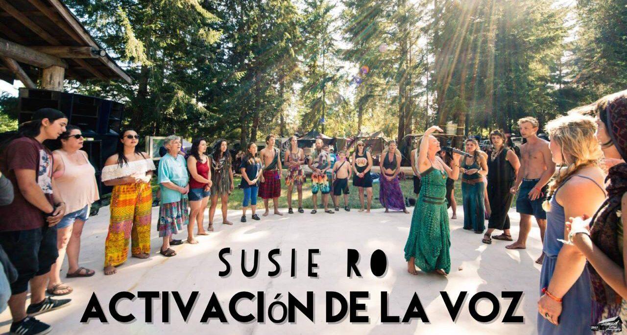 Activación de la voz con Susie Ro